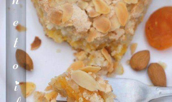 Tarte abricot macaron