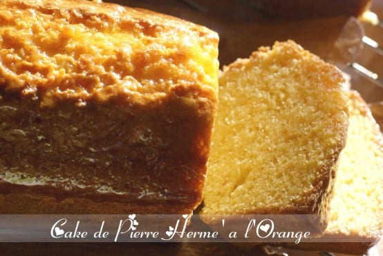 Cake a l'orange de Pierre Hermé