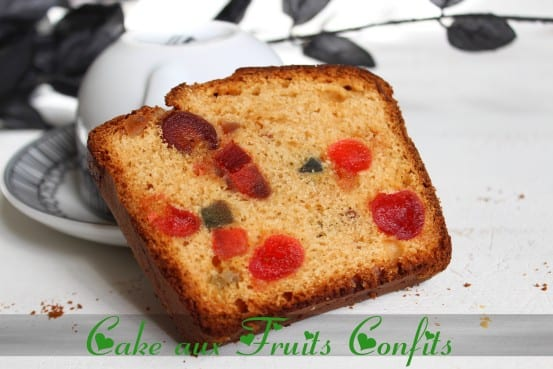 cake aux fruits confits amour de cuisine. Black Bedroom Furniture Sets. Home Design Ideas