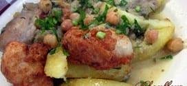 chou-fleur en sauce blanche, cuisine algerienne