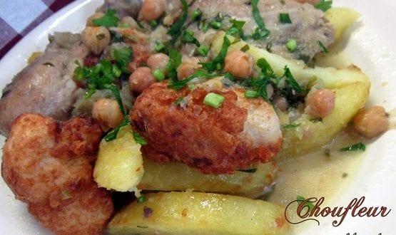 Chou fleur en sauce blanche cuisine algerienne amour de for Amour de cuisine algerienne