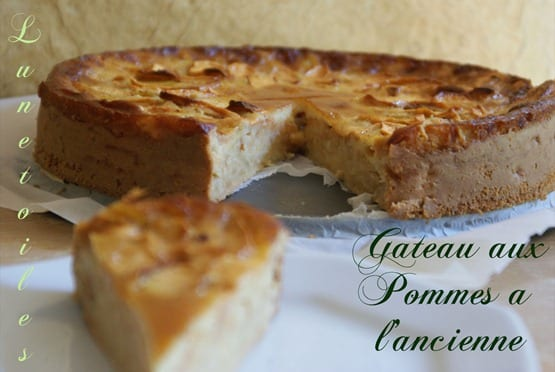 Gateau aux pommes a l 39 ancienne amour de cuisine - Recette cuisine ancienne ...