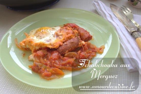 Ojja merguez cuisine tunisienne amour de cuisine for 1 amour de cuisine chez soulef