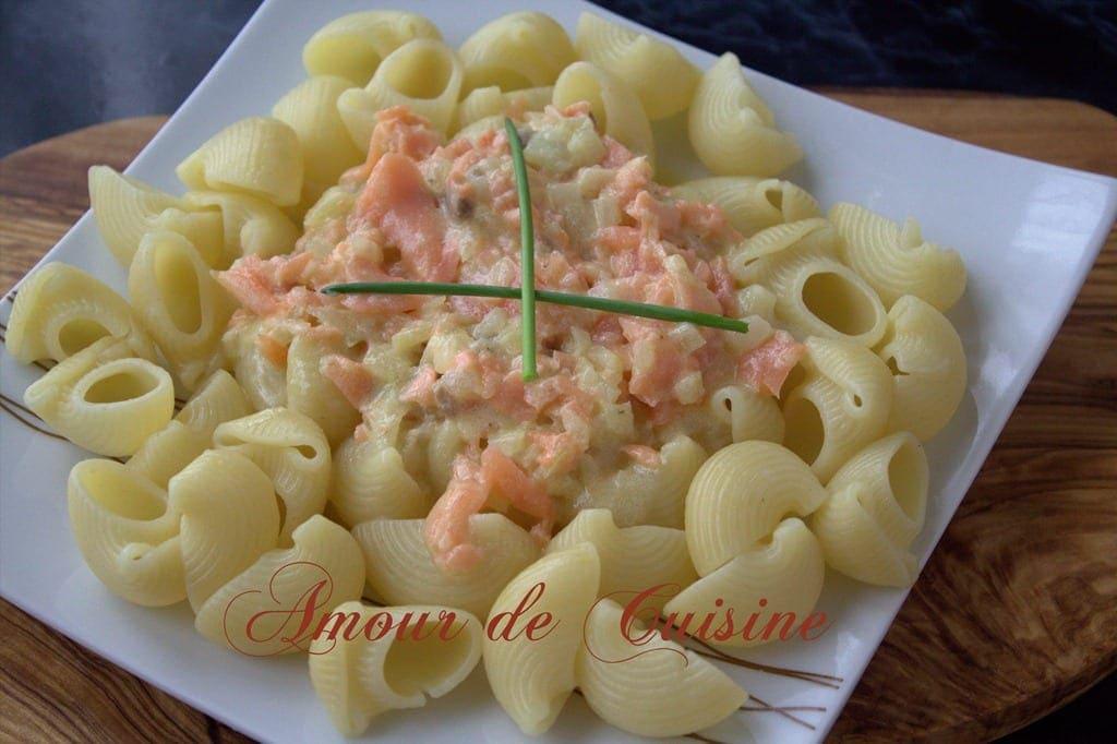 P tes au saumon fum facile et rapide amour de cuisine - Plat rapide et facile ...