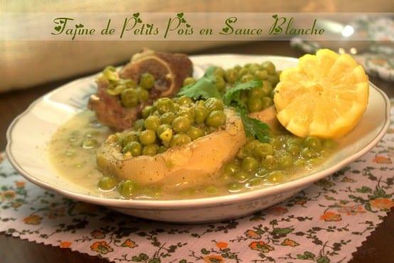 Tajine de petits pois en sauce blanche cuisine algerienne amour de cuisine - Recette de cuisine algerienne gratins ...