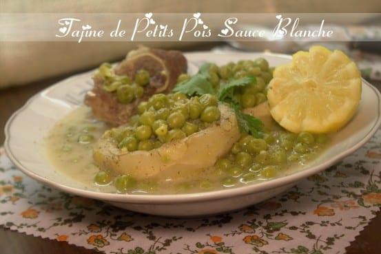 Tajine de petits pois en sauce blanche cuisine for Amour de cuisine algerienne