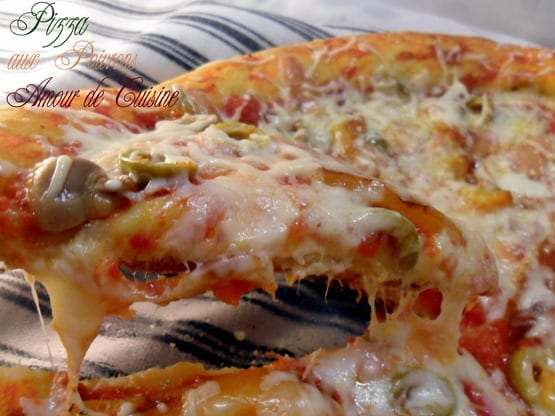 pizza au poivron griller 010