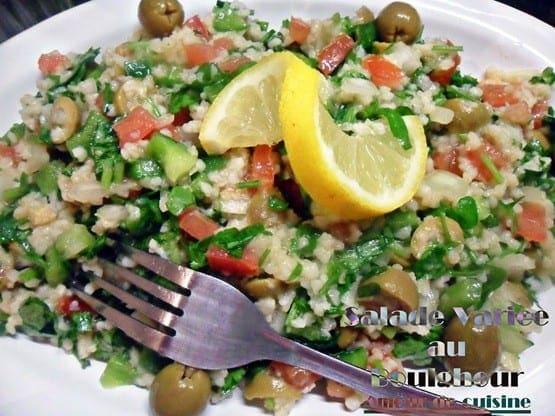 Taboul libanais salade vari e au boulgour amour de for 1 amour de cuisine