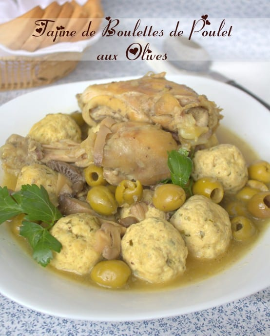 Tajine aux boulettes de poulet et olives plat de ramadan for Dicor de cuisine algerienne