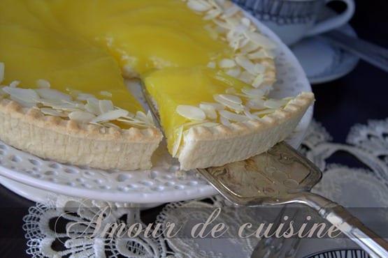 tarte à la creme au citron lemon curd