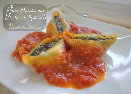 Pates Farcies Aux 233 Pinards Et Ricotta Amour De Cuisine