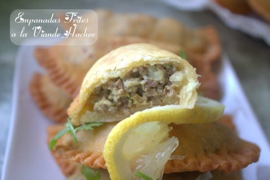 Bourak laadjine / Empanadas a la viande hachee