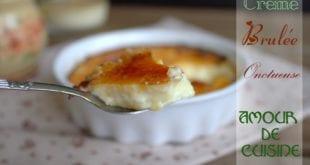 Crème brûlée, recette crème brulée
