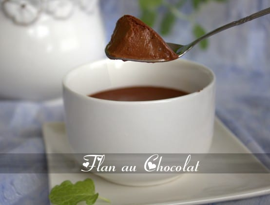 flan au chocolat maison facile