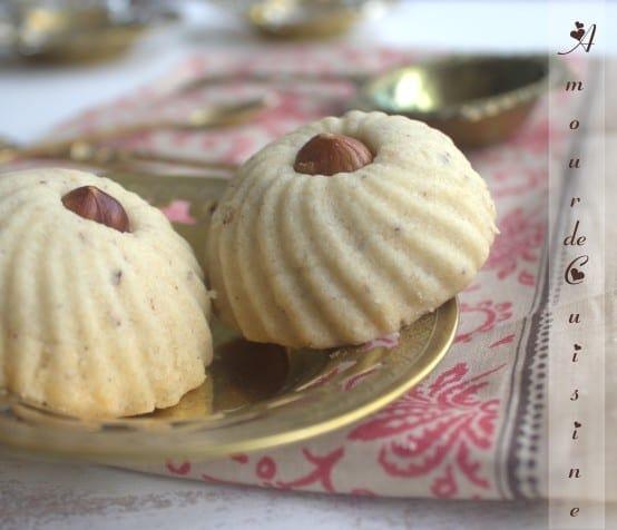 ghribia aux noisettes gateau sec algerien amour de cuisine