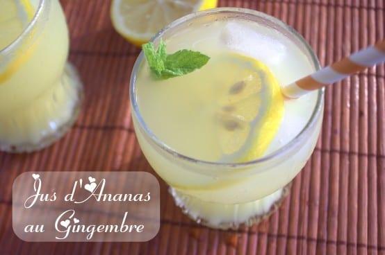 Jus d'ananas boisson rafraichissante - Amour de cuisine