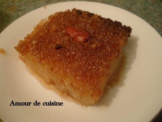 Kalb el louz etape par etape et en video hrissa amour for Amour de cuisine kalb el louz