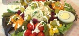 Salade composée au riz et thon / salade pour ramadan 2017
