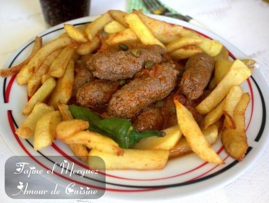 Tajine el merguez cuisine tunisienne pour le ramadan for 1 amour de cuisine