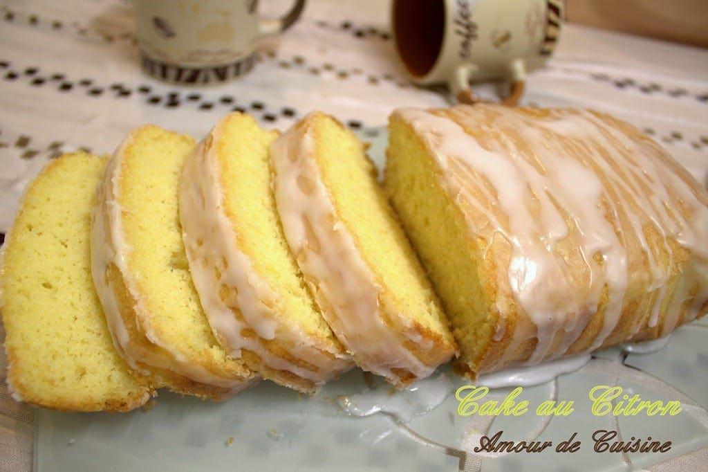 Cake Au Citron Sans Beurre Sans Huile
