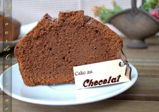 Cake au chocolat moelleux amour de cuisine - Herve cuisine cake chocolat ...