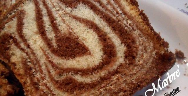 Cake marbré de houriat el matbakh, حورية المطبخ :الكعكة الرخامية