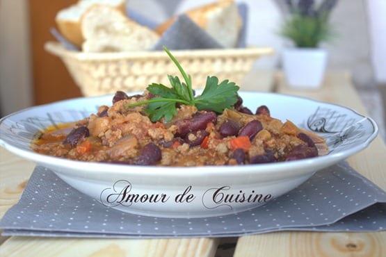 chili con carne recette facile avec viande hachee 1