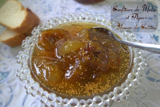 confiture de figues melon