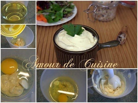 mayonnaise maison facile et tres rapide
