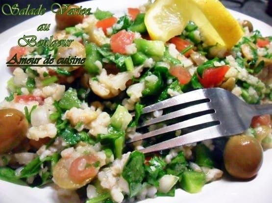 salade taboule libanais