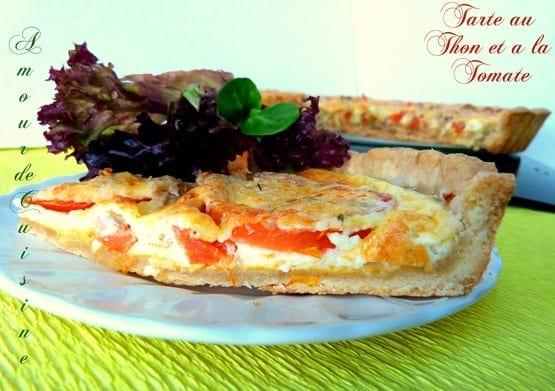tarte thon et tomate