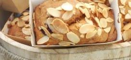 Cake amandine aux framboises / cake sans gluten