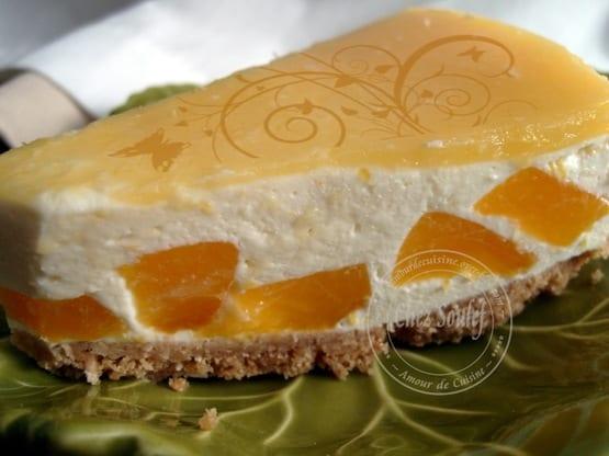 cheesecake mangue / bavarois au gout de la mangue - amour de cuisine