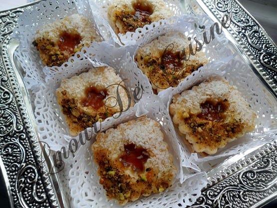 Sabl s a la confiture amour de cuisine for 1 amour de cuisine