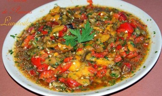hmiss, salade de poivrons ou slata mchwiya
