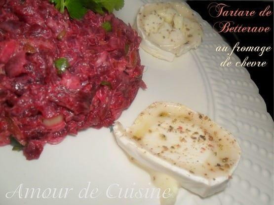 salade de betterave au fromage de chevre 1