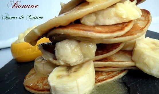 blinis a la banane