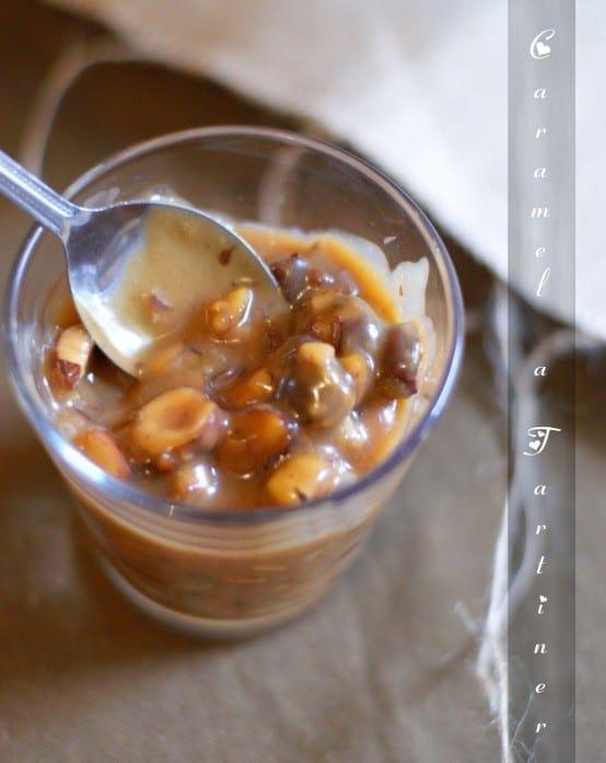 caramel à tartiner aux fruits secs
