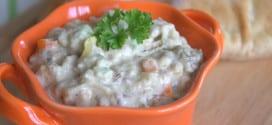 salade a l'aubergine / salade orientale en video