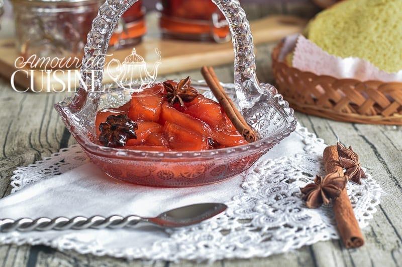 Dessert confiture de coing
