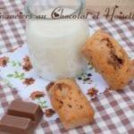 financiers au chocolat et noisettes