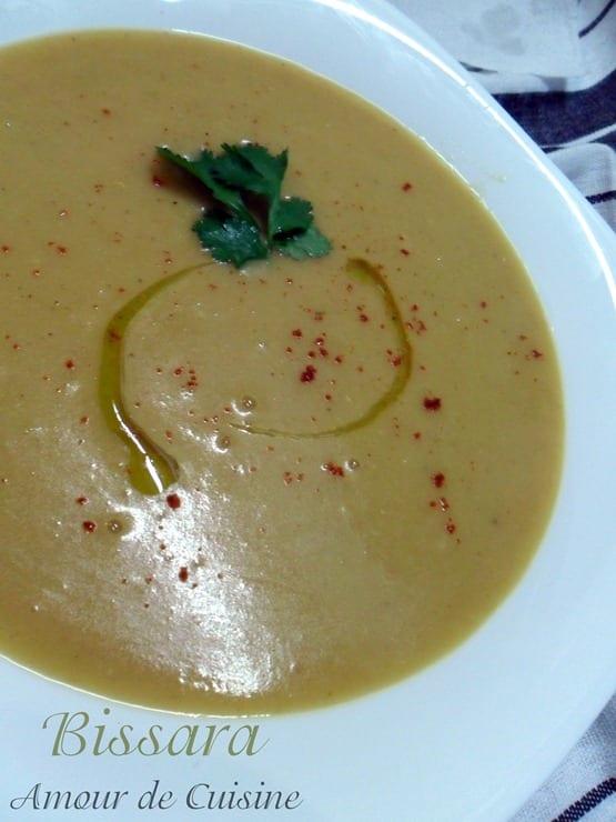 bissara soupe aux pois cassés
