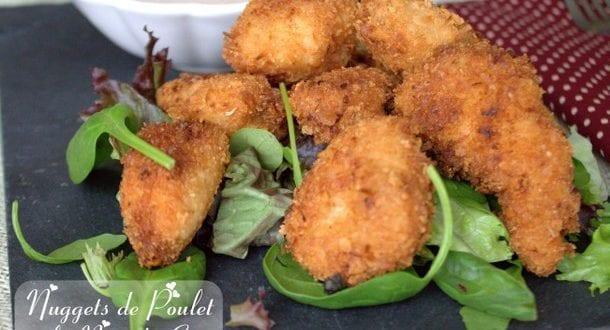 Nugget de poulet a la noix de coco