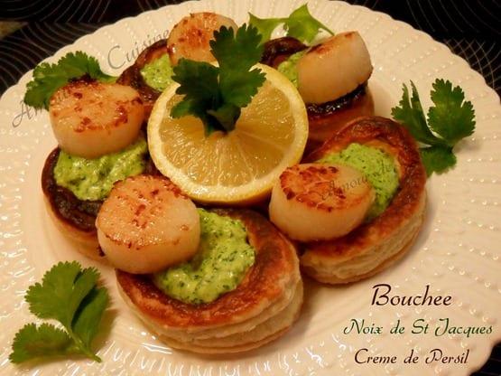 Recette de noix de saint jacques po l es amour de cuisine - Cuisine noix de saint jacques ...