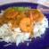 crevettes sautées au lait de coco