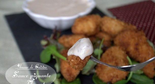 Sauce piquante au yaourt