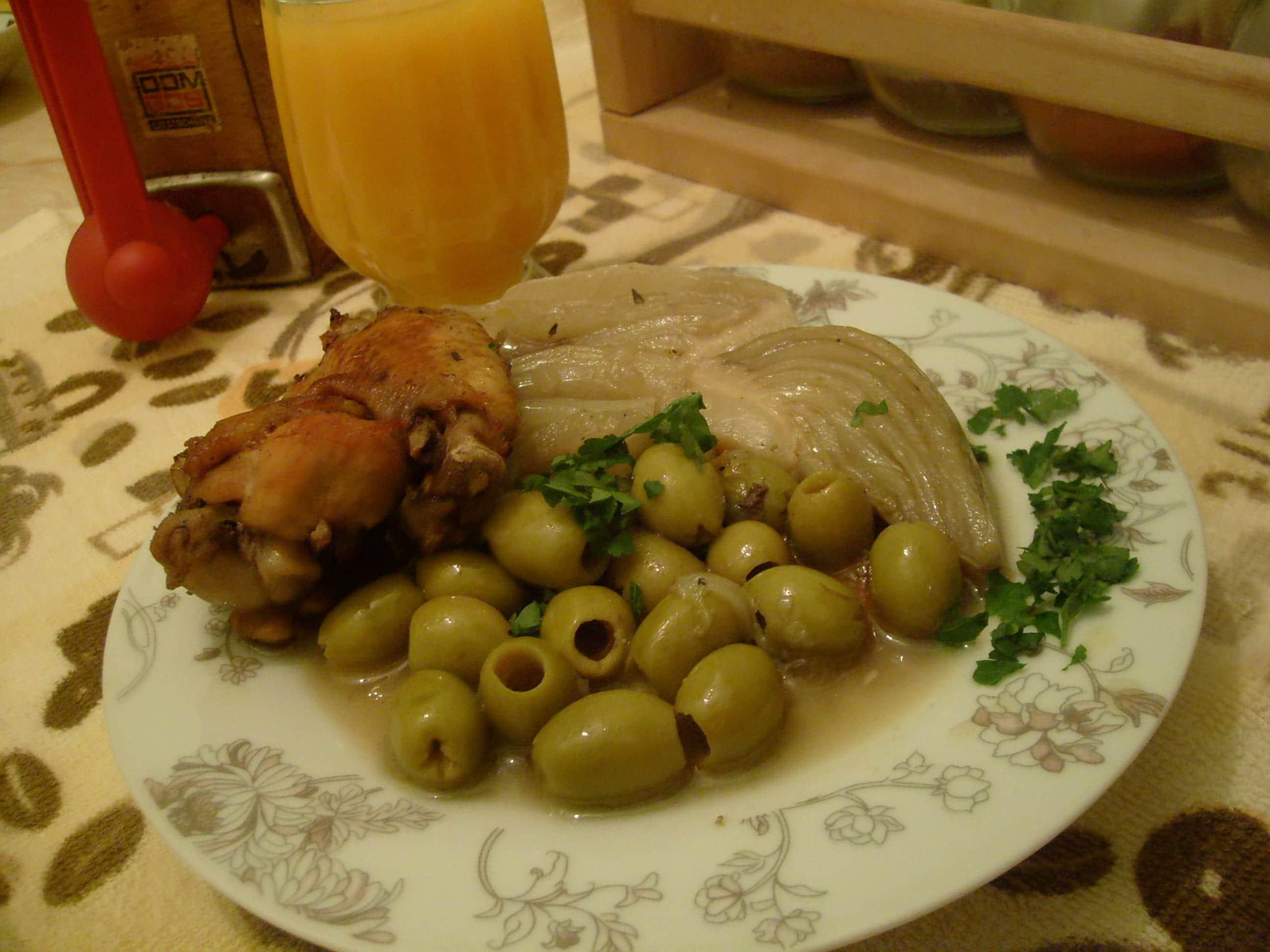 Tajine d 39 olives aux fenouils amour de cuisine - Blog cuisine algeroise ...