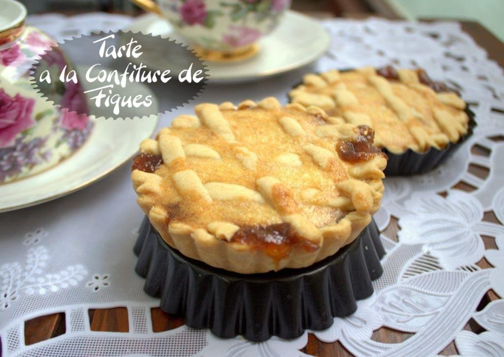 tarte a la confiture de figues samira tv amour de cuisine