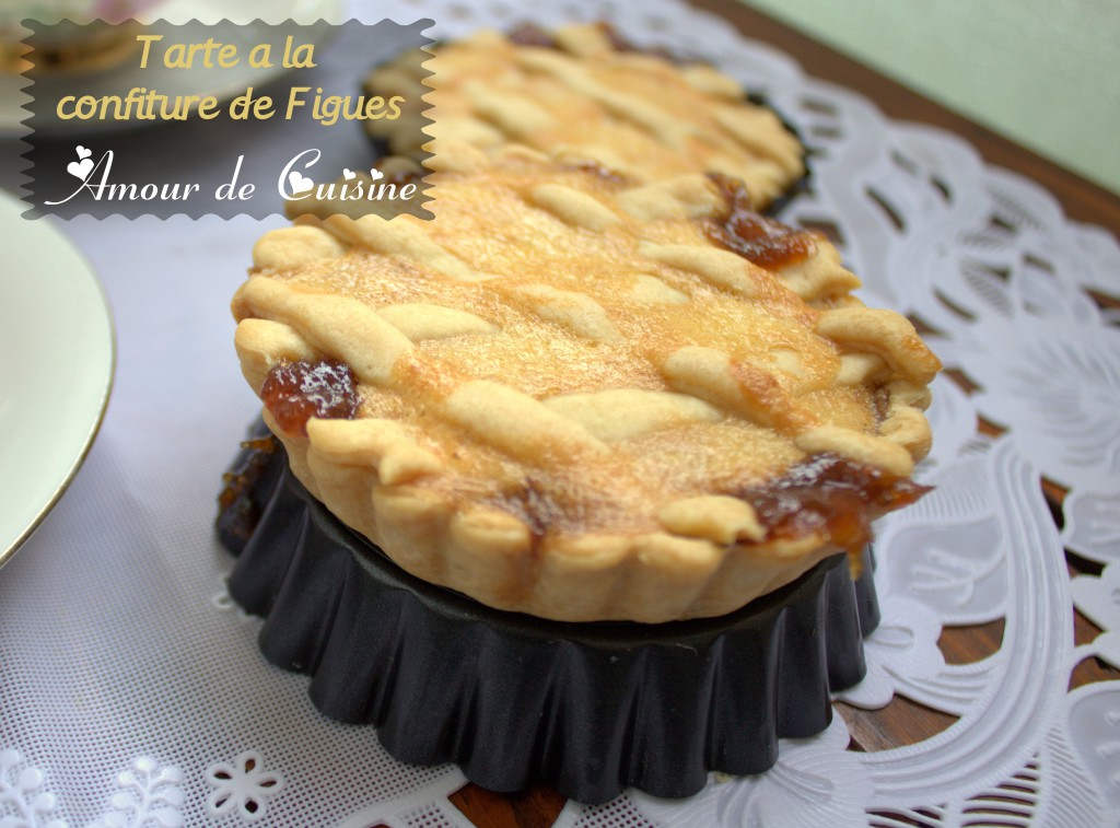 tarte a la confiture de figues / samira tv