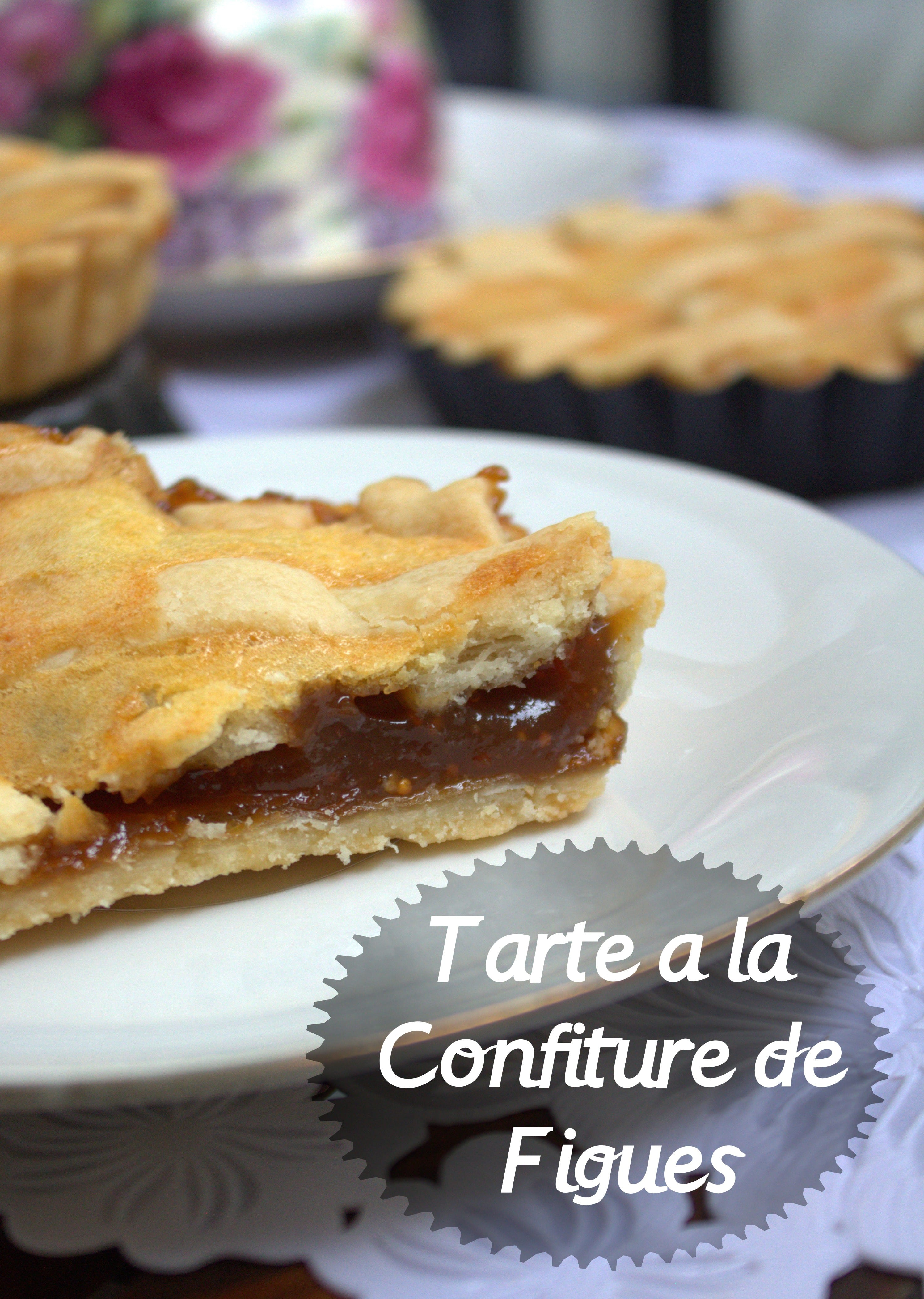 Tarte a la confiture de figues samira tv amour de cuisine for Amour de cuisine